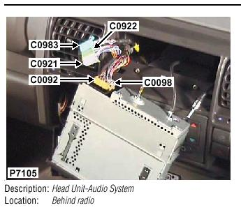 Land Rover Discovery 2 Audio Wiring Diagram - Wiring