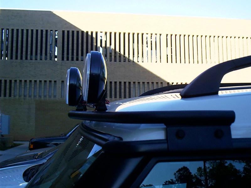 Roof mount light bar how to route wiring land rover forums light bar is similar these mozeypictures Image collections