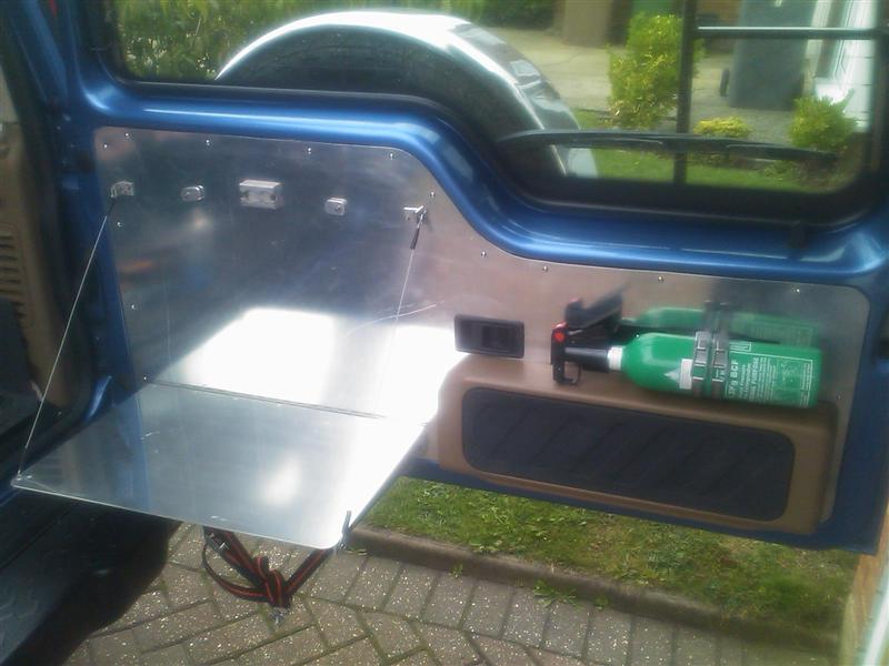 Land Rover Owner View Topic Disco 2 Rear Door Chequer